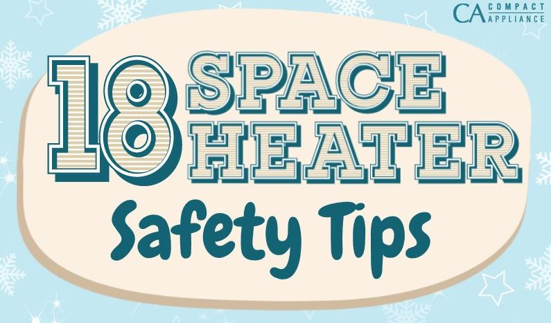 Safety tips for using space heaters