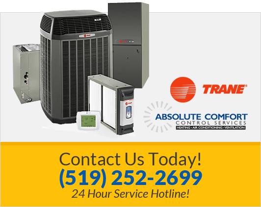 Trane air conditioners advertisement