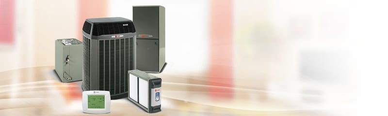 Variety of products offered by Trane