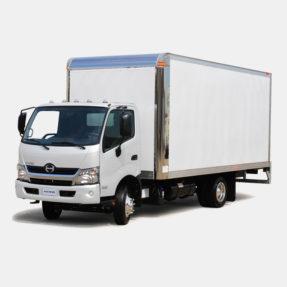 Hino model 195 on white background