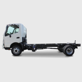 Hino truck side view