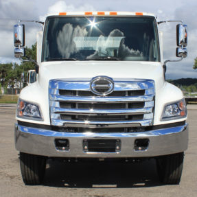 front view of hino truck