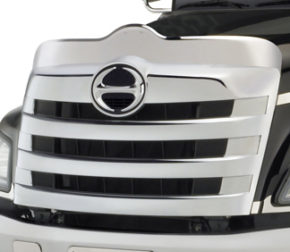 front grill of truck